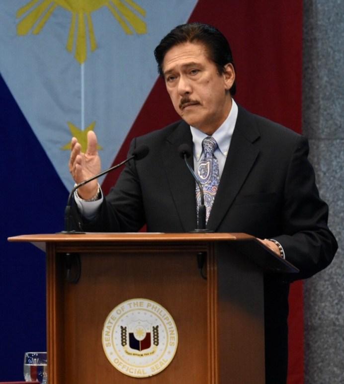 Tito Sotto takes oath as Senate President. Photo by Angie de Silva/Rappler