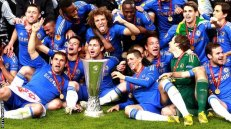 1ST TEAM TO HOLD BOTH EUROPEAN CUPS