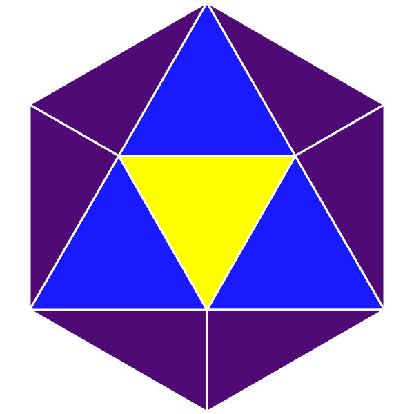 Purple Icosohedron[600]