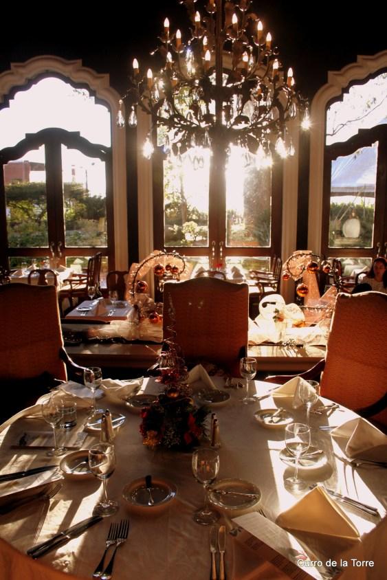 Mesas Comedor Hotel Vista Real Guatemala Navidades 2103