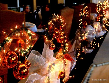 Adornos Mesas Hotel Vista Real Guatemala Navidades 2103