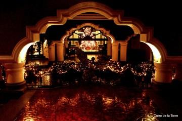 Balcón Interior Hotel Vista Real Guatemala Navidades 2103