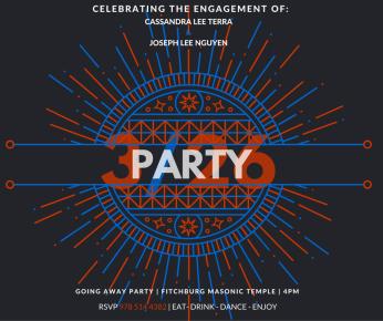 ENGAGEMENT PARTY ! FACEBOOK final