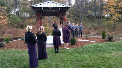 CurryEventServices.com - Ceremony with Soldier