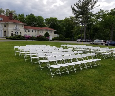 Ceremony at Tupper Manor