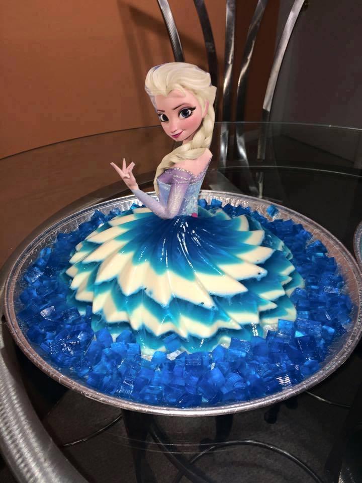 Gelatinas De Princesas Para Fiestas Vestidos 9 Curso