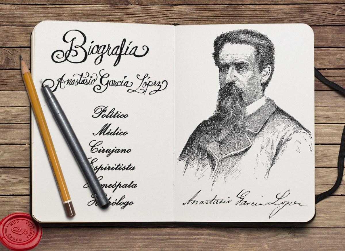 Anastasio García López / Biografía