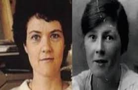 Jenny Cockell y Mary Sutton