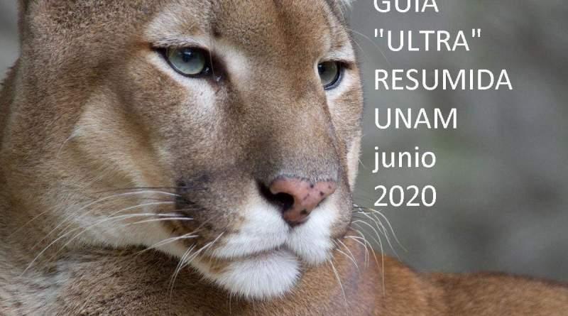 GUIA ULTRA RESUMIDA UNAM junio 2020
