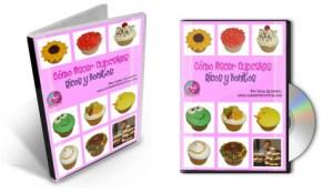 DVD del curso Como Hacer Cupcakes por Rosa Quintero