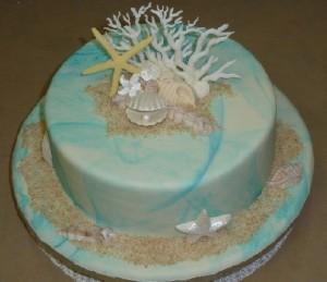 Decoracion para Boda con Conchas y Corales por Rosa Quintero