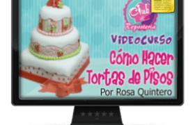 Imagen Curso Como Hacer Tortas de Pisos por Rosa Quintero