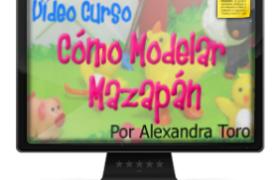 Imagen Curso Como Modelar Mazapan por Alexandra de Serrano