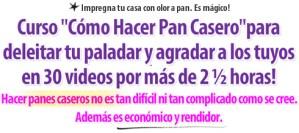 Titulo Carta de Ventas Como Hacer Pan Casero - Curso por Rosa Quintero