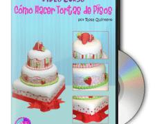 Curso Como Hacer Tortas de Pisos en DVD por Rosa Quintero