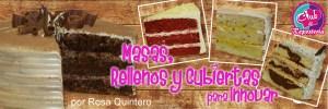 Banner Curso Masas, Rellenos y Cubiertas por Rosa Quintero