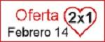 Oferta 2x1 San Valentin para Cursos