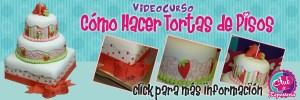 Banner Curso Como Hacer Tortas de Pisos por Rosa Quintero