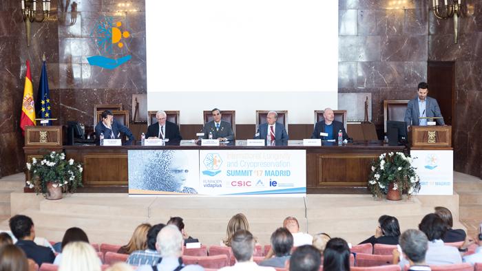 Mesa 3 del ILC Summit ´17 en la que participó Max More.