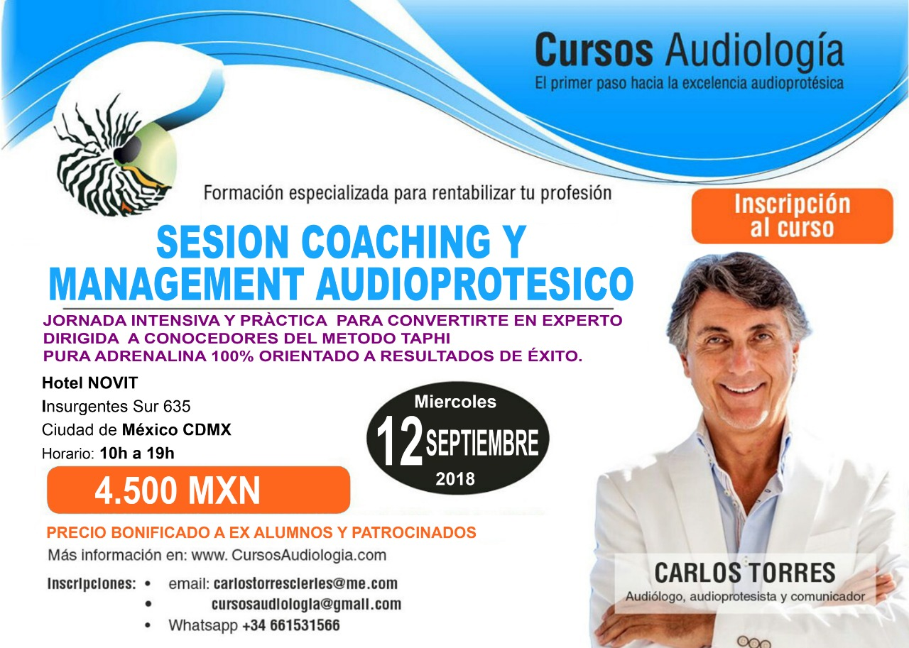 SESION COACHING & MANAGEMENT AUDIOPROTÉSICO