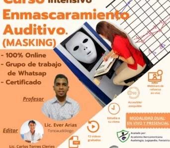 CURSO intensivo sobre ENMASCARAMIENTO AUDITIVO (Masking Audiométrico)