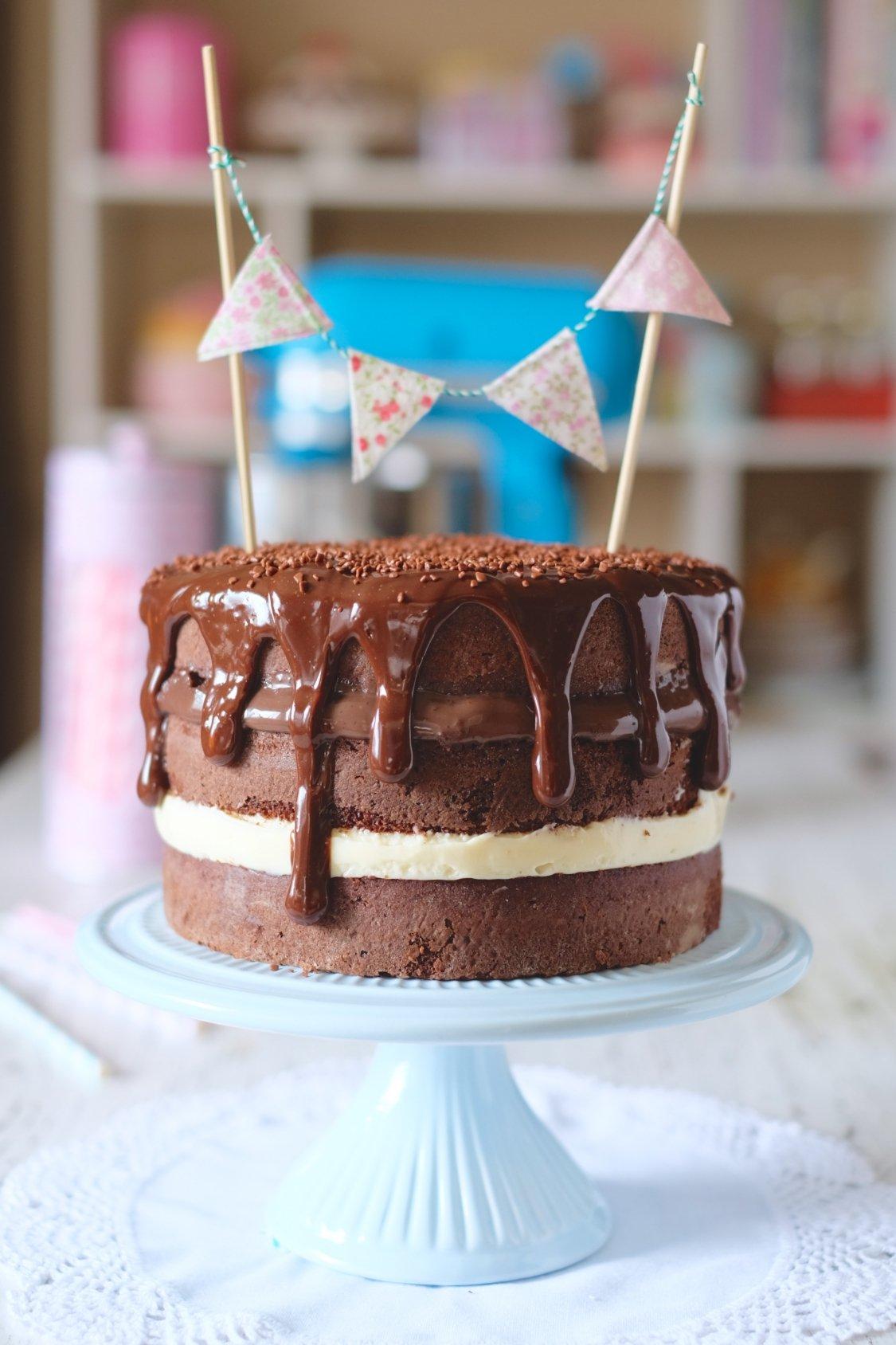 Naked Cake de Panetone - Monta Encanta