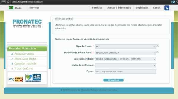 Cursos gratuitos em Nova Serrana pelo PRONATEC