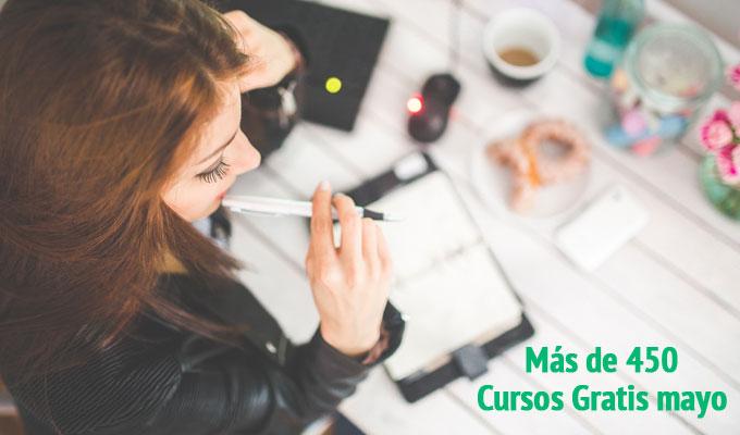 cursos gratis de Universidades para mayo 2016
