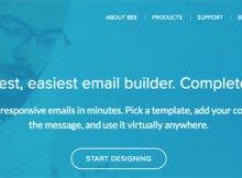 bee free, para crear emails propios