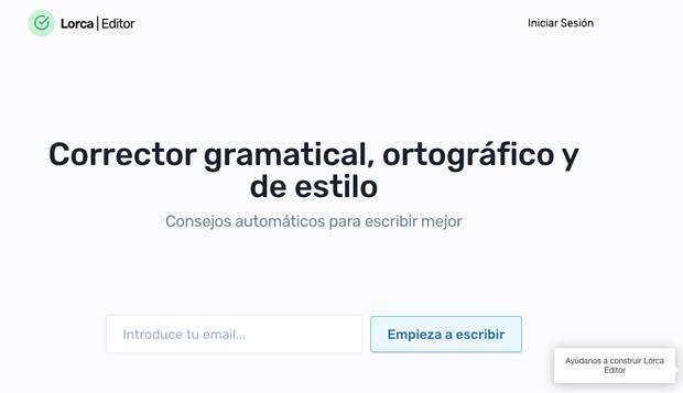 Lorca Editor, el corrector de español