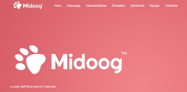 Midoog, la red social para tu mascota