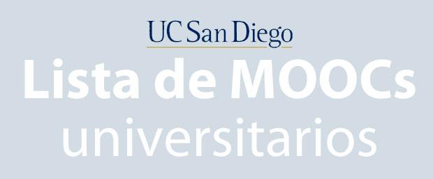 MOOCs Universidad de San Diego
