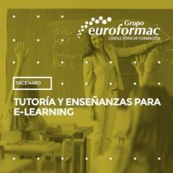 SSCE144PO - TUTORÍA Y ENSEÑANZAS PARA E-LEARNING--ONLINE 100 horas