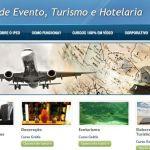 Cursos gratuitos com certificado de evento, turismo e hotelaria