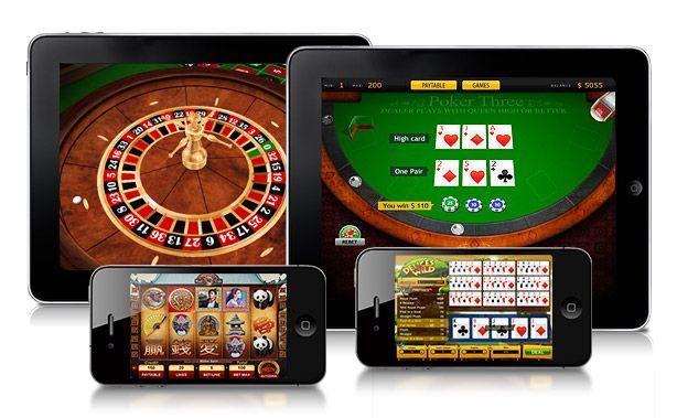 Smartphones: Um casino na palma das suas mãos