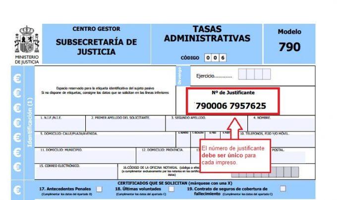 tasa modelo 790 código 12 pdf