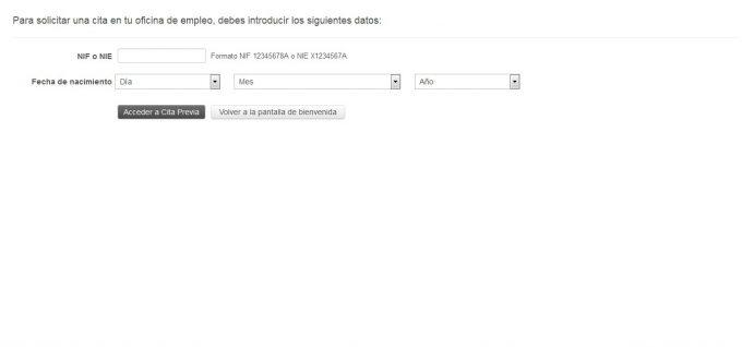 wordpress is awesome Cita previa SAE. PASO 2