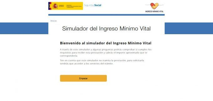Simulador Ingreso Mínimo Vital 1