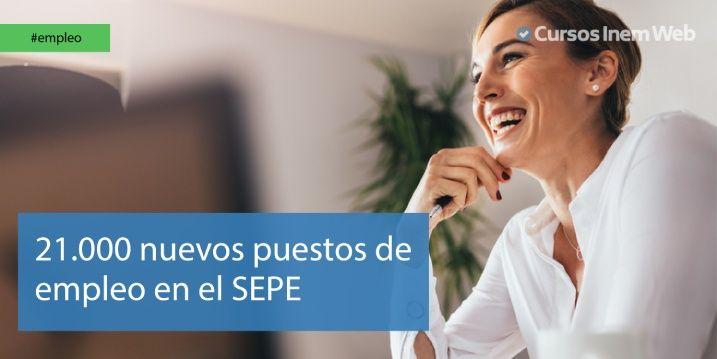 Convocatoria de empleos del SEPE
