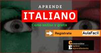 aula facil italiano curso gratis
