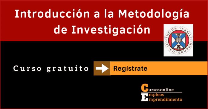 curso metodologia de la investigacion