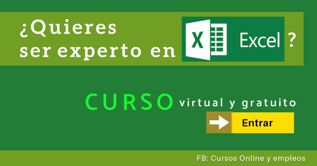 Microsoft Office Excel Se Un Experto Con Este Curso Gratis Online