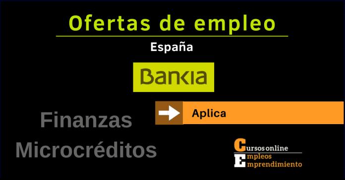 Bankia trabaja con nosotros