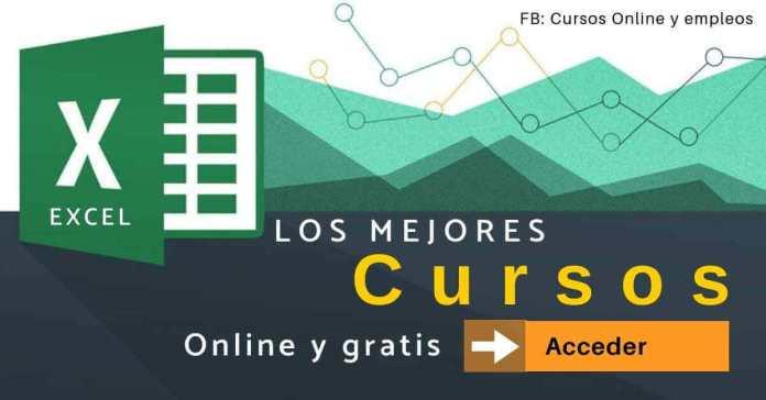 Cursos de Excel online todos los niveles