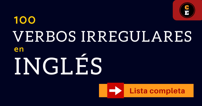 verbos irregulares en inglés para aprender y usar