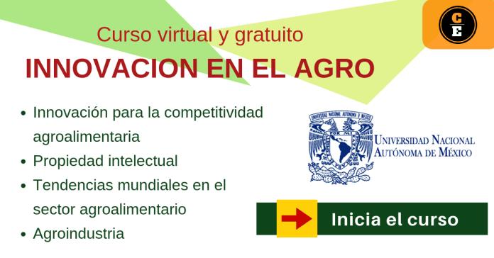 convocatoria UNAM curso virtual agro industria