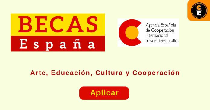 Becas en España AECID