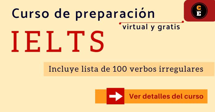 Curso IELTS online de preparación