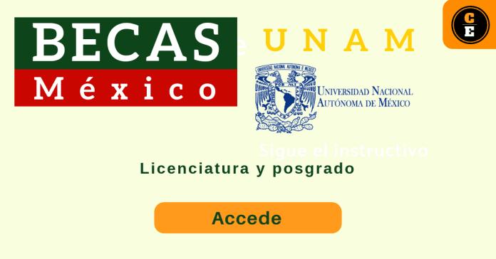 Becas posgrado UNAM