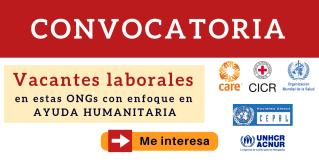 ong internacionales anuncios de trabajo